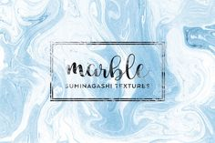 Suminagashi Marble Textures by Dreamstale on @creativemarket