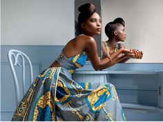 Beauty inspired by nature - Traditional West African clothing and fashion