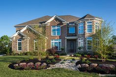 The exterior of The Monaco by Infinity Homes at Cincinnati HOMEARAMA® 2016. #housetrends