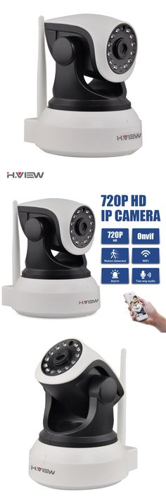 [Visit to Buy] H.View WiFi Wireless 720P IP Camera WiFi IP Camera Two Way Audio Baby Monitor Pan Tilt Security Camera Easy QR CODE Scan Connect #Advertisement