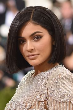 Kylie Jenner unveiled a shorter, sleeker style at this year's Met Gala. While it's likely to be a faux bob, the chin-length hairstyle clearly suits her.    - HarpersBAZAAR.co.uk