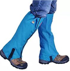 AOTU Tsonmall Hiking Gaiters Waterproof Breathable Snow Gaiters Leg for Men Womens Walking Climbing Hunting ** See the photo link even more details. (This is an affiliate link). Hiking Gaiters, Look Good Feel Good, Mountain Climbing, Oxford Fabric, Outdoor Gear, Pairs, Legs, Boots, Camping
