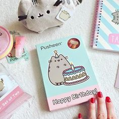Pusheen beans! Tag a friend who would want all this for their birthday! #regram via @26q