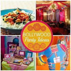 Bolllywood Party Ideas #Bollywood #party