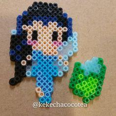 Silvermist perler beads by kekechacocotea