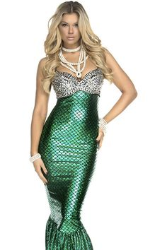 Under The Sea Sexy Mermaid Costume