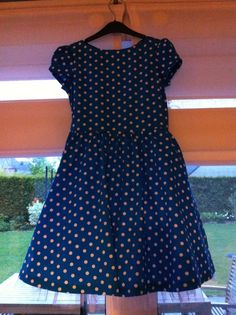 50-ies polka dot dress