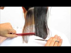 Welcome to the short tips & tricks video series! Watch powerful tips on how to cut an A-line for a long bob haircut. Long Bob with A-line full video tutorial. Bob Hairstyles For Thick, Haircuts For Fine Hair, Hairstyle Short, Stylish Hairstyles, Bob Haircuts, Hairstyle Ideas, A Line Long Bob, Short Long Bob, Bob Styles