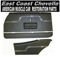 Chevelle door panels - Chevelle door panels - We carry door panels for camaro - nova - el camino and more - call dave's east coast chevelle parts at 69 Chevelle Ss, Dave East, Car Restoration, American Muscle Cars, East Coast, Chevrolet Logo, Pretty Girls, Door Panels, El Camino