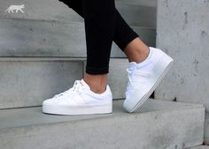 adidas Superstar Rize W (White / White / Gold Met. )