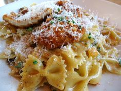 Louisiana Chicken Pasta from the Cheesecake Factory