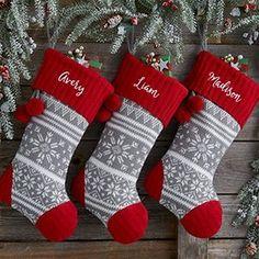 Christmas Farmhouse stockings...and more! 31 Farmhouse Christmas decor ideas are right here!