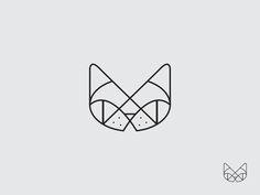 Geometric representation of a cat. -Claire Robertson