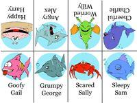 games: Feelings Go Fish Printable Game Feelings Game, Fish Feelings ...