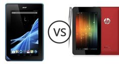 De HP Slate 7 VS. de Acer Iconia B1 A71