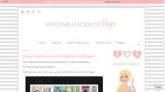 Como diseñar un blog. Cursos para blogueras. Tutorial sobre cómo crear un blog.