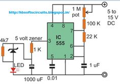 A very simple strobe light circuit can be built using a single ...