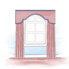 """"""" arched window treatments"""" - Yahoo Image Search Results"""