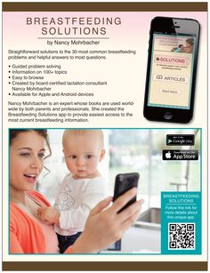 1c4b7924be1 Breastfeeding Solutions app - Straightforward answers to common  breastfeeding questions Lactation Consultant