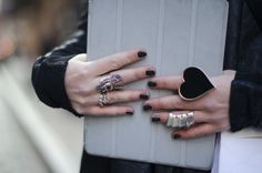 love the big heart ring