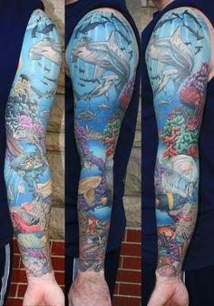 Underwater Tattoos