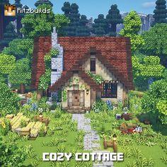 Minecraft House Plans, Minecraft Mansion, Minecraft House Tutorials, Cute Minecraft Houses, Minecraft Houses Blueprints, Minecraft House Designs, Amazing Minecraft, Minecraft Tutorial, Minecraft Creations