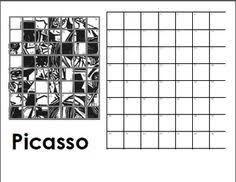 Image result for mystery grid art worksheets