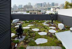 diseño terraza estilo oriental zen