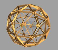 Hjörtur Sigurðsson: Generation of a laser cuttable geodesic sphere in Grasshopper