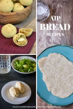 Get these 17 delicious AIP bread recipes here - enjoy nut-free, egg-free, grain-free, dairy-free flatbreads, dinner rolls, and more.