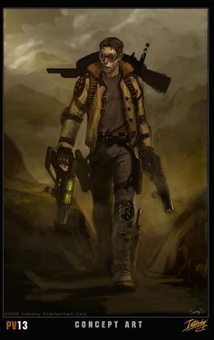 fallout concept art | Fallout MMORPG Concept Art in the Wild | RPG PC Games