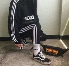 Streetwear Daily Urbanwear Outfits Tag to be featured DM for promotional requests Tags: Korean Fashion, Mens Fashion, Fashion Outfits, Adidas Fashion, Street Outfit, Street Wear, Estilo Vans, Tumblr Outfits, Aesthetic Fashion
