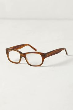 Anthropologie Horn Stripe Reading Glasses
