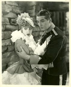 Jeanette MacDonald & Maurice Chevalier