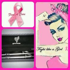 Younique for cancer awareness Www.beautifullylonglashes.com
