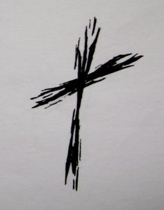 Rough Cross Tattoo by ~typowilliams on deviantART