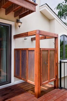 Outdoor Shower Design Ideas, Pictures, Remodel, and Decor - page 9