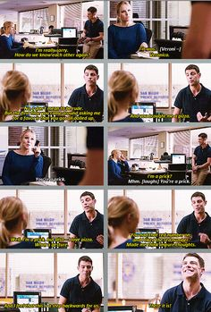 Veronica Mars GIFset - Leo and the pizza. When I saw this I sincerely thought Leo didn't remember Veronica and I was really upset