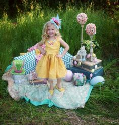 Such an adorable Easter picture idea!!