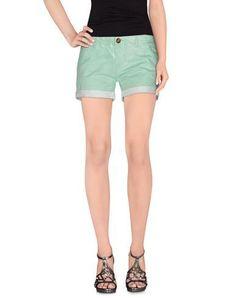 ATELIER FIXDESIGN Women's Shorts Light green 31 jeans