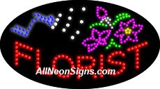 """Animated Flowers LED Sign-ANSAR24042  15""""x27""""x1""""  Animated  8lbs  Indoor use only  Low energy cost: Uses ONLY 10 Watts of power  Expected to last at least 100,000 hrs  Cool and safe to touch, low voltage operation  High visibility, even in daylight  Easy to clean, Easy to install, Slim & Light Weight  Maintenance FREE  1 YEAR Warranty"""