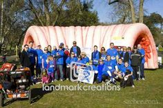Inflatable Colon Sacramento - Strategic Partnership Leads to Greater Awareness of Colorectal Cancer #inflatables - Colon Cancer Alliance