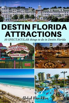 10 SPECTACULAR things to do in Destin Florida - - Looking for fun things to do in Destin, Florida? We have the best Destin Florida attractions to make your vacation to Destin a spectacular trip! Florida Usa, Destin Florida Vacation, Destin Beach, Florida Travel, Florida Beaches, Beach Trip, Travel Usa, Destin Florida Activities, Destin Attractions