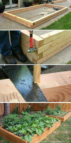 How to Build Raised Garden Beds for Growing Vegetables, Raised Garden Beds
