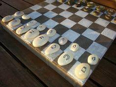 5 juegos infantiles caseros ¡con piedras pintadas!