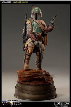 Estatua Star Wars Mythos. Boba Fett, 48cms. Exclusiva. Sideshow Collectibles