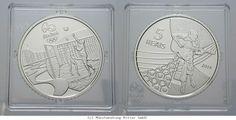 RITTER Brasilien, 5 Reals 2014, Olympische Spiele Rio de Janeiro 2016, PP #coins #numismatics