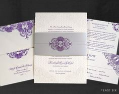 1x1.trans Wedding Invitations — East Six