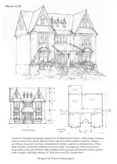 House 336 Plan by ~Built4ever on deviantART