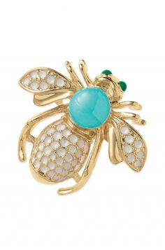 bee brooch....get this at www.stelladot.com/CaraAndAshley